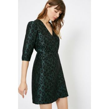 Women's Green Dress 0YAF80236GW