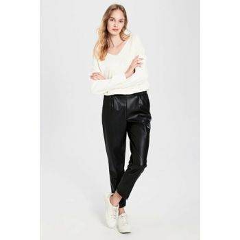 Women's New Black Pants 9WU827Z8