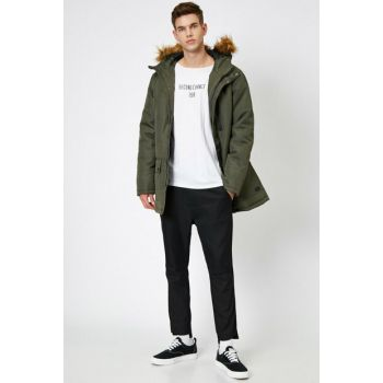 Men's Khaki Coat 0KAM04060KW