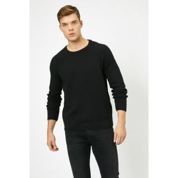 Men's Black Sweater 0KAM91836DT