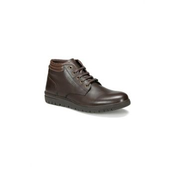 Genuine Leather Brown Men's Boots 225340