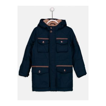 Boys' Dark Navy Blue Hrc Coat 9W0030Z4