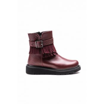 Maroon Children's Boots EA28OF510