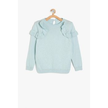 Blue Girl Pullover 9KKG97168OT