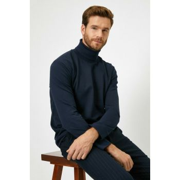 Men's Navy Blue Shirt Ls 0KAM14684OK