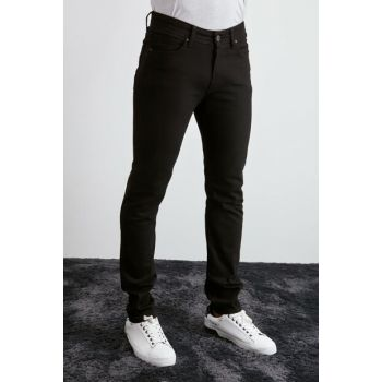 Black Mens Slim Fit Jeans TMNAW20JE0419