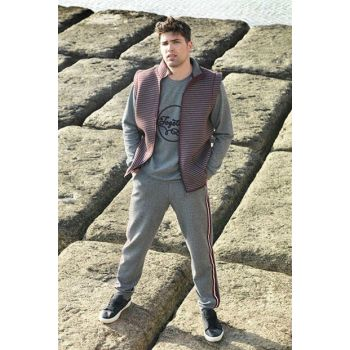Men's Anthracite Together Men's 3 Pajama Set A2024