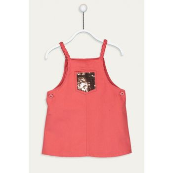 Girl Child Matte Red Gt0 Dress 9WH761Z4