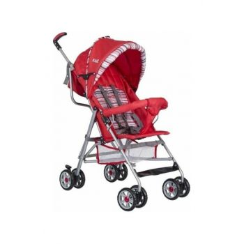 Kz2005 Half Reclining Walking Stick Baby Stroller KZ2005-RED