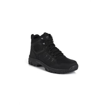 Black Unisex Outdoor Shoes DPRMGFRZ2034