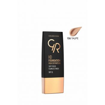 Foundation - HD Foundation High Definition 106 Taupe 8691190832568
