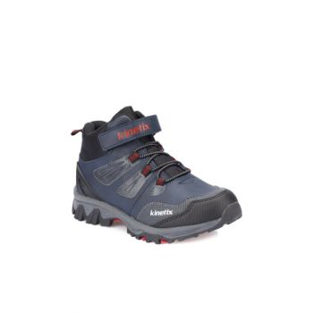 Navy Blue Red Kids Boots OGMA