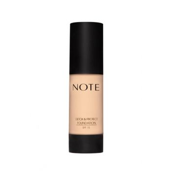 Protective Foundation - Detox Protect Foundation 01 Beige 30 ml 8680705312015