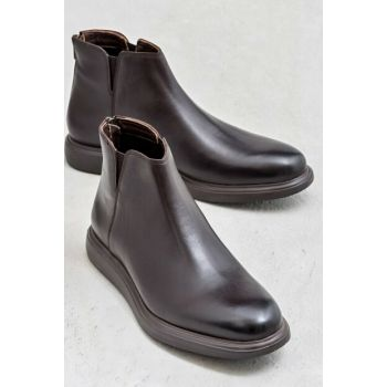 BAUTISTA Genuine Leather Brown Men Boots 19KEF3322