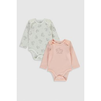 Baby Girl Ecru Printed Body with Lra Snaps 2WL 9WP091Z1