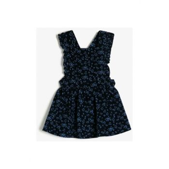 Navy Blue Baby Dress 0KMG87679AW