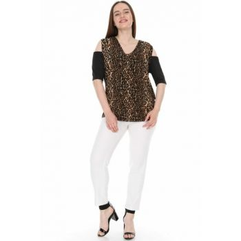 Women's Black Blouse 2293