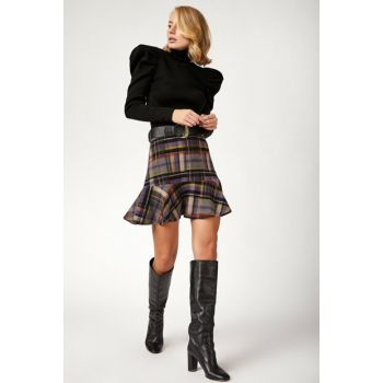 Women's Mix Stamp Skirt BL00144