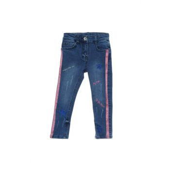 Navy Blue Girls Trousers 19121051100