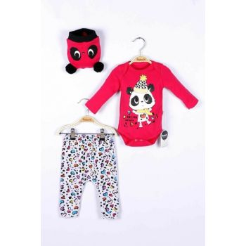 Baby Girl Badi Trousers Hat 3-Piece Set 14736 MINI14736