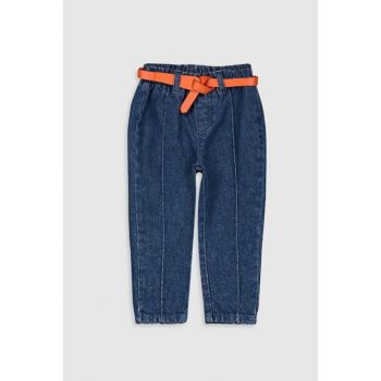 Baby Girl Dark Rodeo 309 Jean Pants And Belt 9WT656Z1