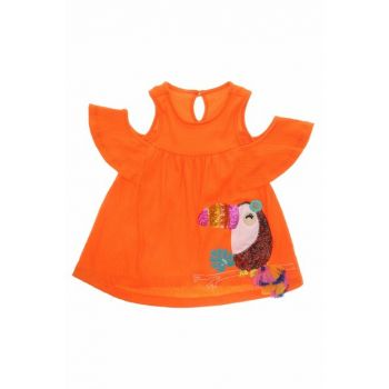 Orange Girls' Casual Dress 19126350100