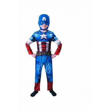 Captain America The Avengers Costume 3-4 Age NYGNS00003142