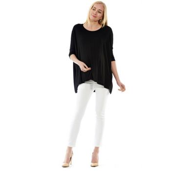 Black Maternity Flame Blouse Bm408 BM408