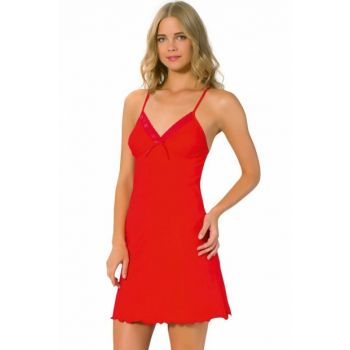 Women's Red Nightgown - 306 1375649
