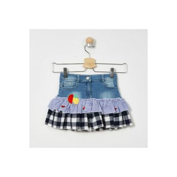 Blue Girls' Skirt 19129064100