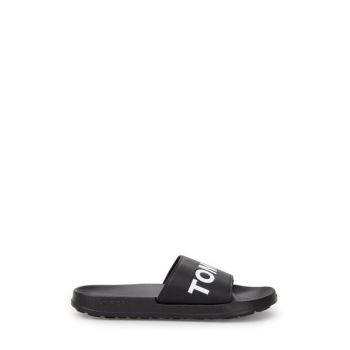 Black Men's Slippers EM0EM00105 990