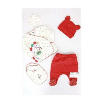 Red Dinosaur Baby Girl 5s Hospital Outlet a436