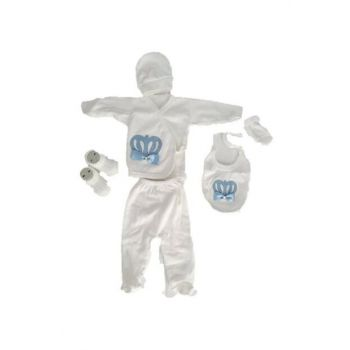 6 pcs Baby Boy And Girl Hospital Outlet Newborn Layette Set a418