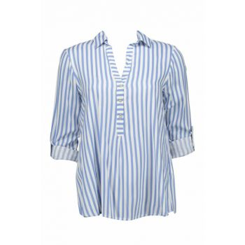 Women's Ice blue Blouse BREVIS UCB510426A66