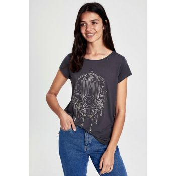 Women's Anthracite T-Shirt 9WS447Z8