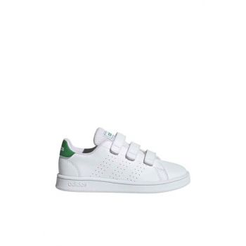 White Advantage Kids Sport Shoes EF0223