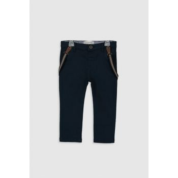 Baby Boy Navy Blue Trousers 0S1077Z1