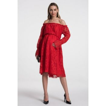Marie Dress - Red M2326