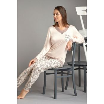 Women's Powder Sleepwear Suit 11499
