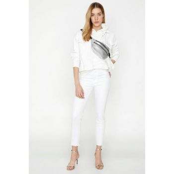 Women's White Jean 8YAL41182JD