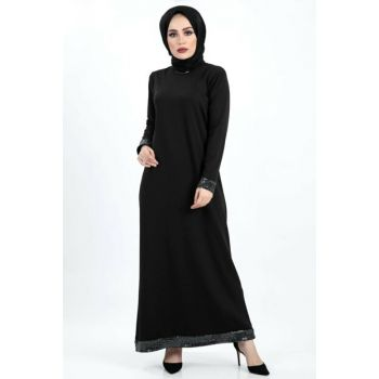 Women Black Dress TSD4020