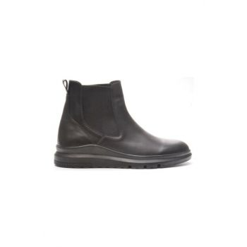 Genuine Leather Black Floter Men Boots TR_BUL-200051
