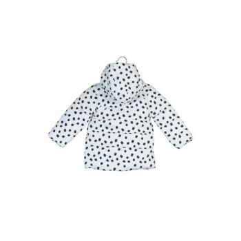 Black Pattern Baby Girl Coat 9KMG29101RW