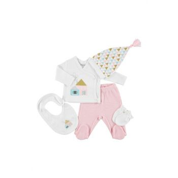 by Baby Girl Cute Home 5'Li Newborn Hospital Outlet 19KHBLKSET048