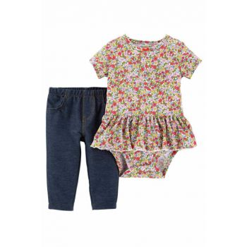 Navy Blue Baby Girl Set of 2 121I829