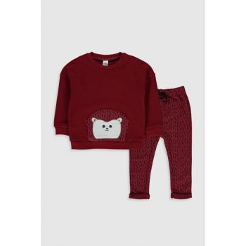 Baby Boy DARK RED HLG Suit 9WT708Z1