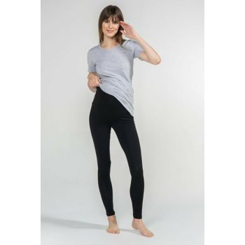 Maternity Tights - Bona - Black 7674
