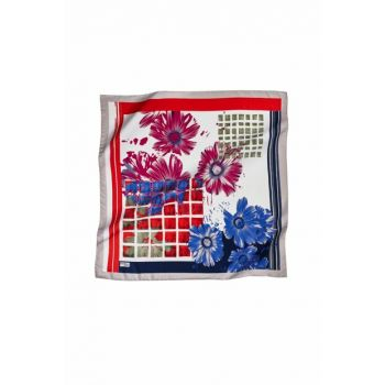 Patterned 08 Rayon Polyester Scarf 14083P 457385