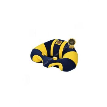 Baby Infant Seat Bebe Infant Seat Support Cushion Seat Navy Blue Yellow BY5004
