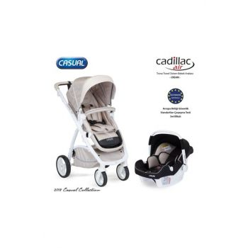 Cadillac Air Trona Travel Set Baby Stroller Cream / 018-051-039